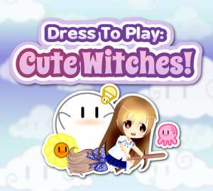 Dress To Play: Cute Witches! Front Cover